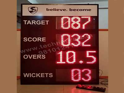 Led-Cricket-Scoreboard