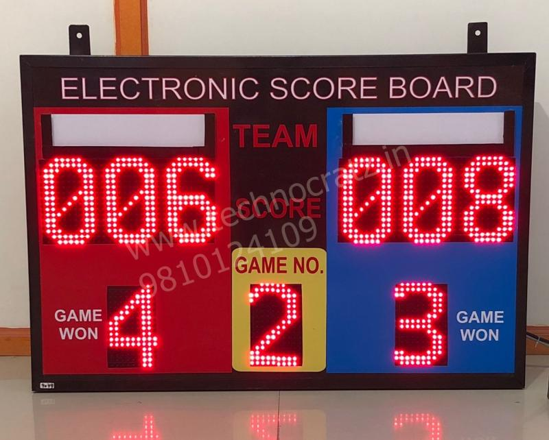 LED Scoreboards for all sports. Electronic scoreboards, Digital scoreboards