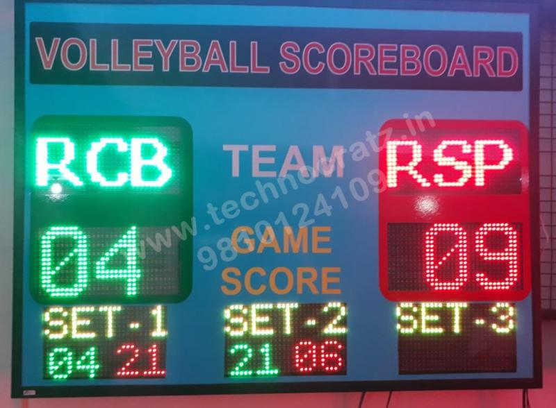 LED Table Tennis Scoreboards, LED Volleyball scoreboards, Badminton scoreboards