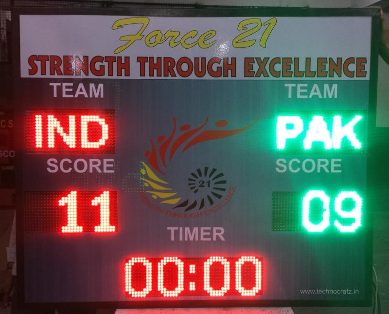 LED Football scoreboards, Football scoreboard manufacturer New Delhi, India