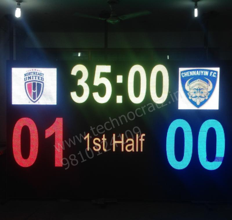 LED Hockey scoreboards, Hockey scoreboard manufacturer New Delhi, India