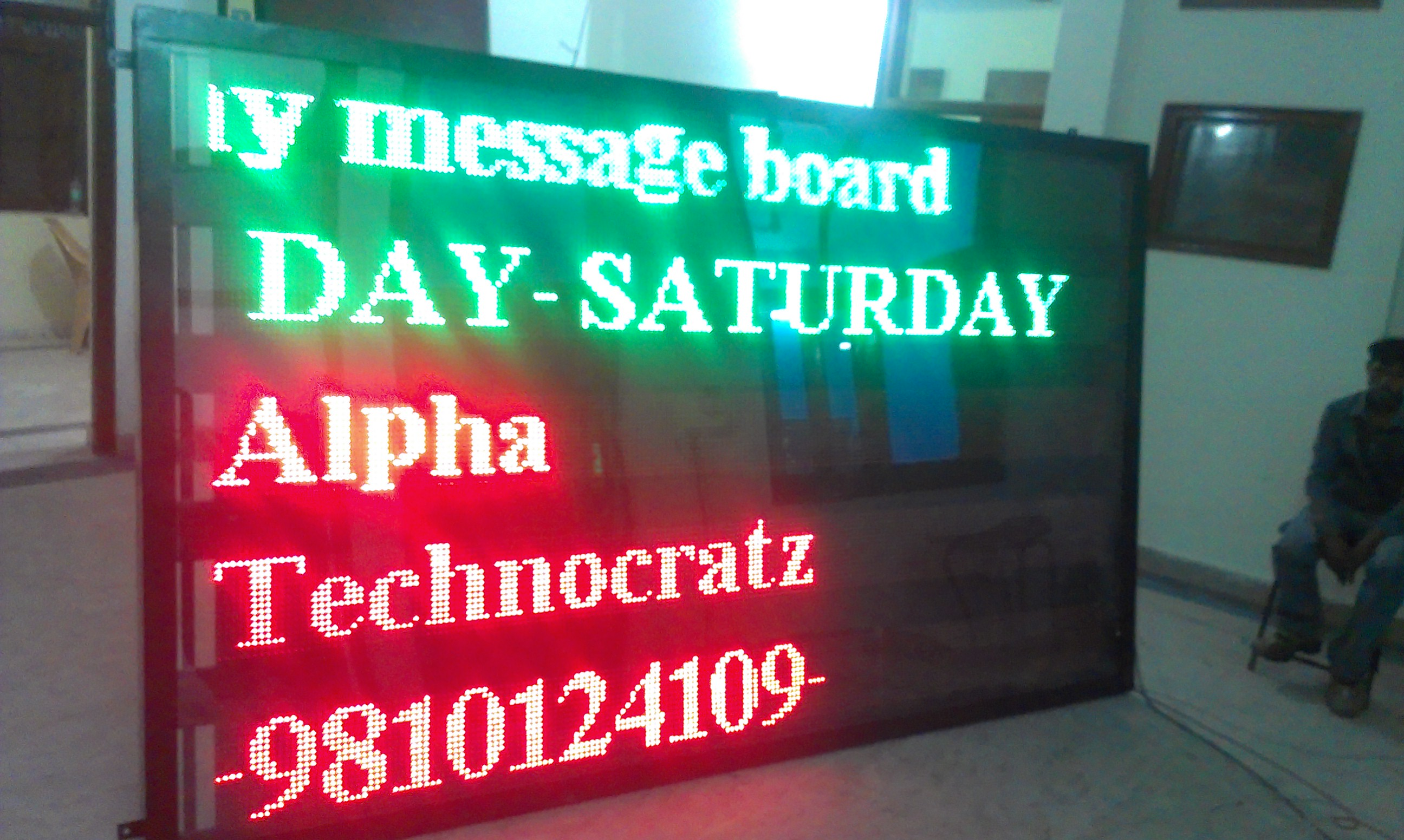 led display board multicolor multiline
