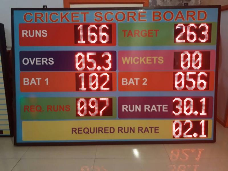 LED cricket scoreboards, LED electronic cricket scoreboards, cricket scoreboards