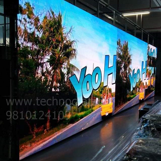 LED Video wall indoor, LED video wall for rental, LED P3 video wall New Delhi