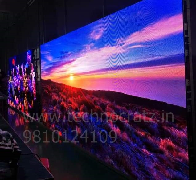 LED Video wall outdoor, LED video wall for rental, LED P5 video wall New Delh