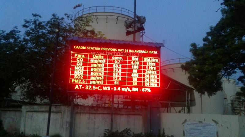 LED Pollution data display, LED Environment data display New Delhi, Pune,  India
