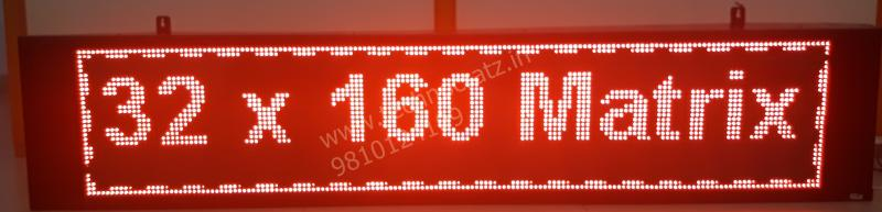 LED scrolling display ,LED Tickers, LED stock market tickers New Delhi, India