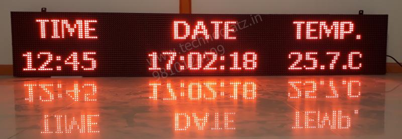 LED Line displays, LED scrolling tickers, P10 tile displays, LED Moving message