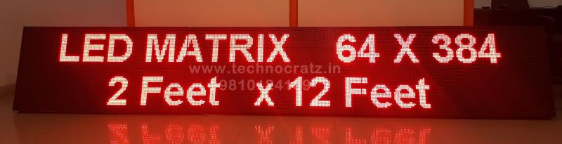 LED tickers, LED scrolling display manufacturer New Delhi India. jaipur raipur