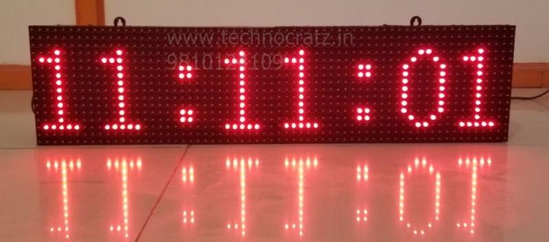 LED Clock, LED Time and Temperature display, FND clock, LED Message display