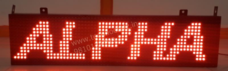 LED tickers, LED scrolling display, LED Tickers manufacturer New Delhi India
