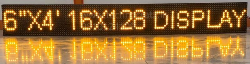LED Scrolling Line displays, LED tickers, P10 tile displays, LED Moving message