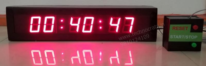 LED timers, LED stop watch, LED counter, LED day down counter, LED time date