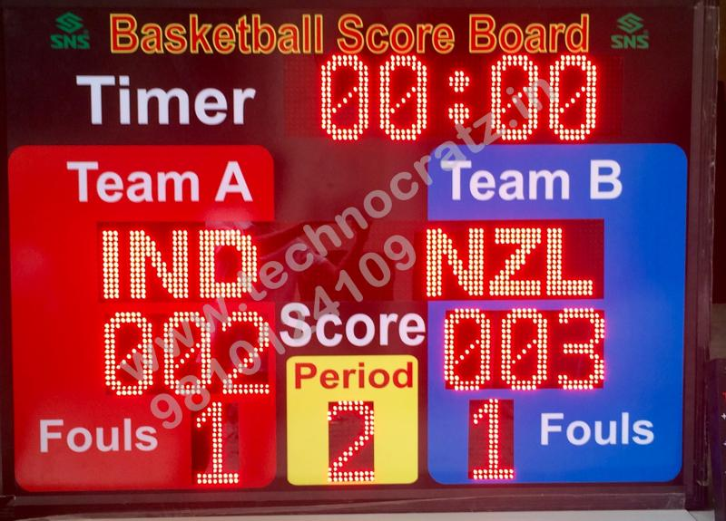 LED Basketball scoreboards, electronic basketball scoreboards New Delhi , India