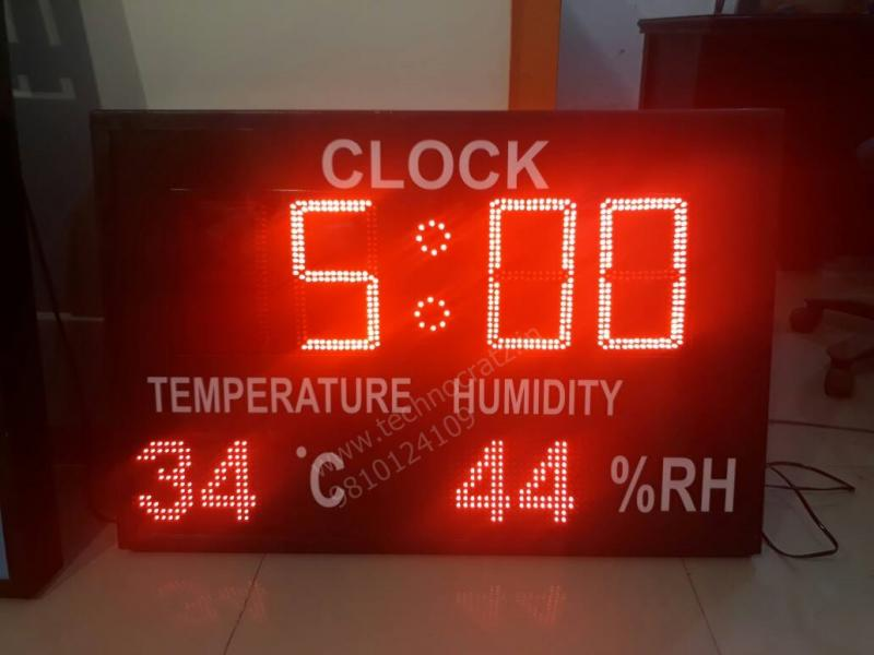 LED Clocks , LED master slave clocks, GPS clocks and LAN interface clocks