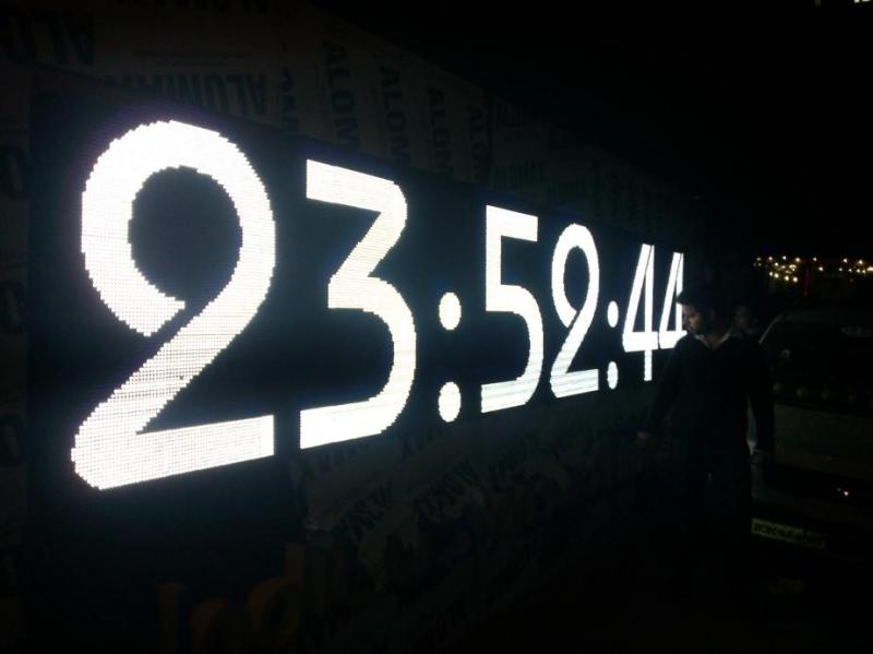 LED clocks and temperature displays, LED digital clocks, LED humidity displays